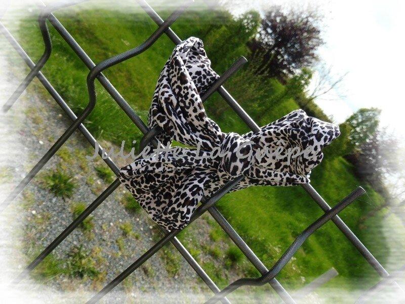 komédienne léopard