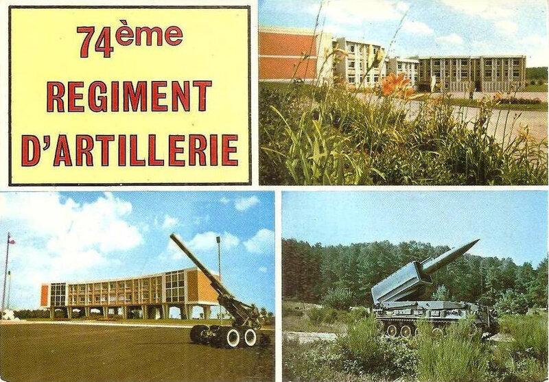 CPM Bourogne 74e Régiment d'artillerie