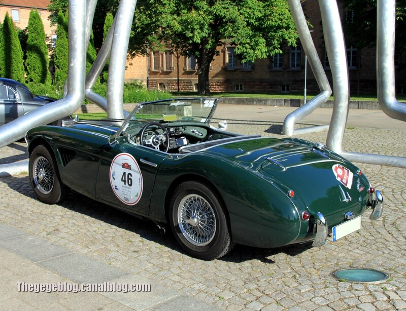 Austin healey 3000 convertible (Paul Pietsch Classic 2014) 02