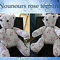 nounours rose1