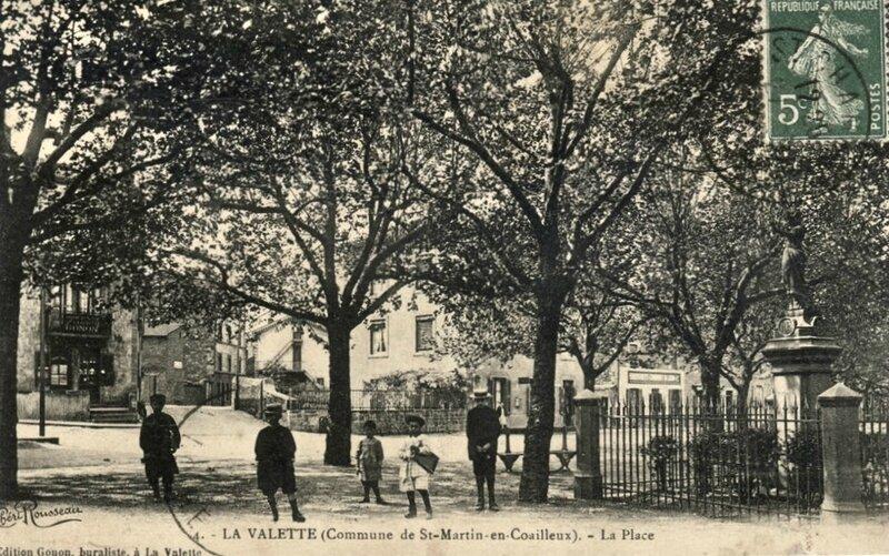 place Valette banc et enfants