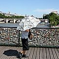 Sur le pont de arts