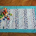 couverture matelassée bleuet1