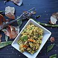 Wok de quinoa végétarien