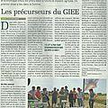 Groupement d'intérêt ecologique et economique: un exemple (article la terre)