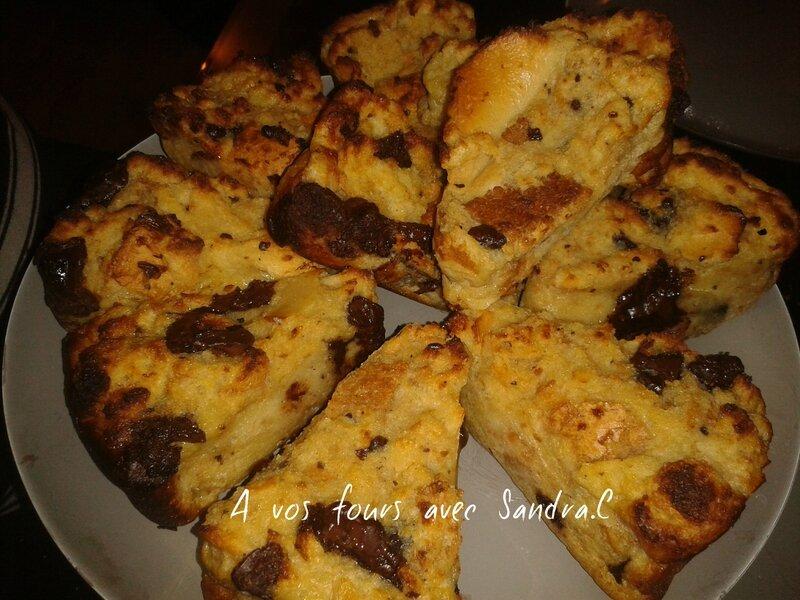 Gateaux pain perdu chocolat 1