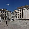 Maison carrément rectangulaire (Nîmes, mai 2018)