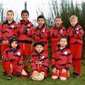 equipe -9 ans 2007-2008 tournoi de Bretenoux