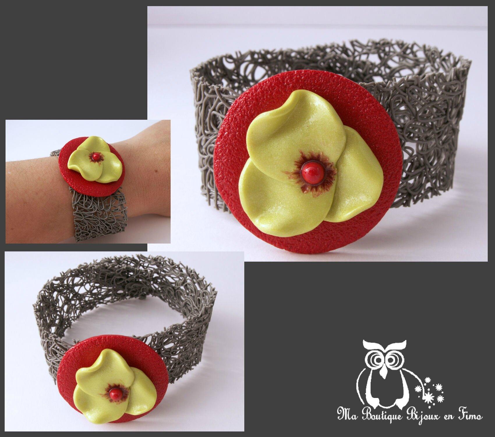 bracelet spécial fleur anisée