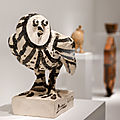 Museum of cycladic art presents a rare and original exhibition entitled picasso and antiquity: line and clay