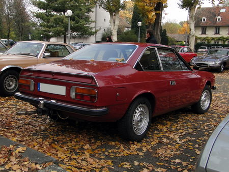 LANCIA Beta 1600 Coupe Retrorencard 2