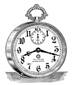 alarm clock vintage image graphicsfairy6b