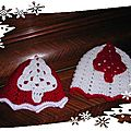 Calendrier de l'avent 2011: premiers bonnets de la collection noël 2011