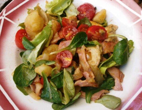 salade de pommes de terre vite fée (2)