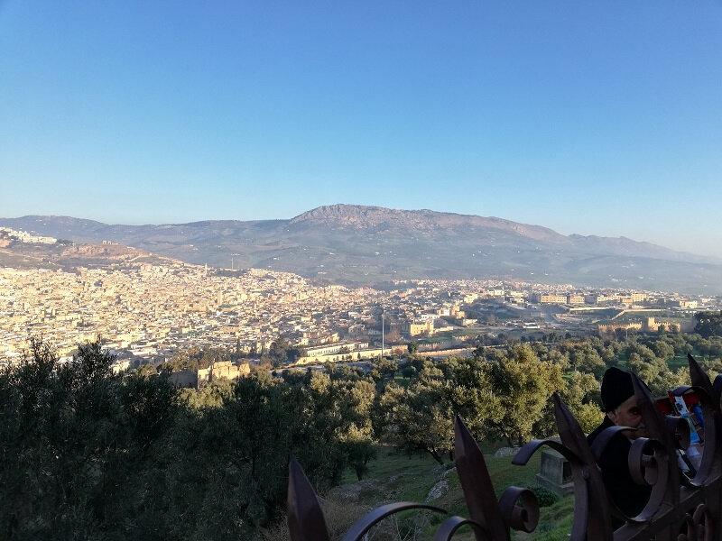 maroc Fes vue sur le RIF fev 2019