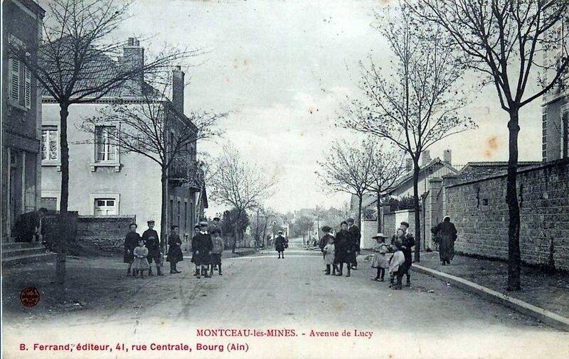 1919-02-01 - Montceau les mines - lucy a