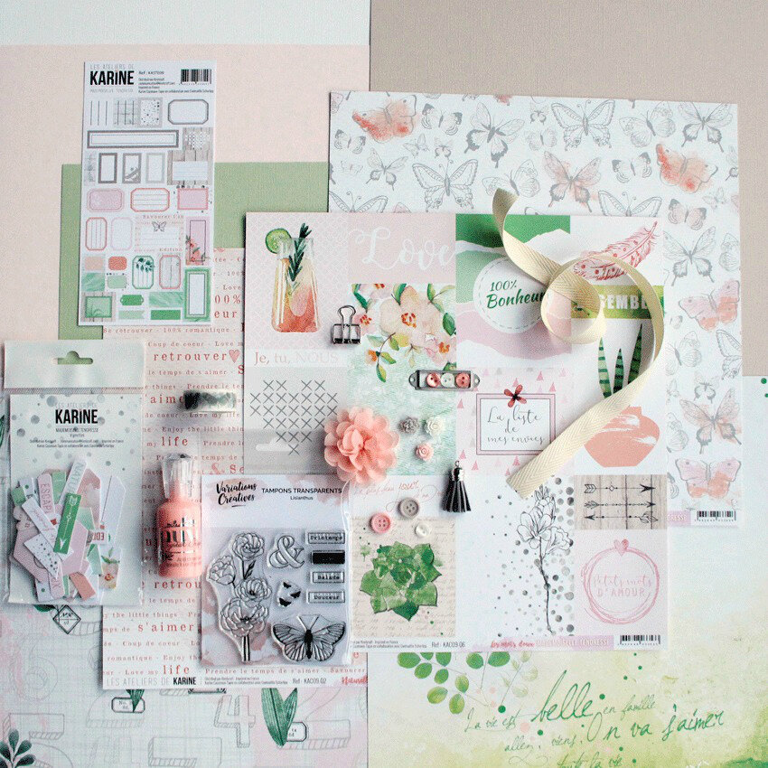 KIT INSPIRATION Juin 2018 Sophie Fouchard : un mini album !