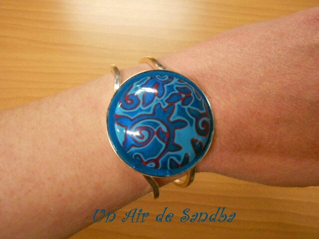 Bracelet rigide Blues (2)