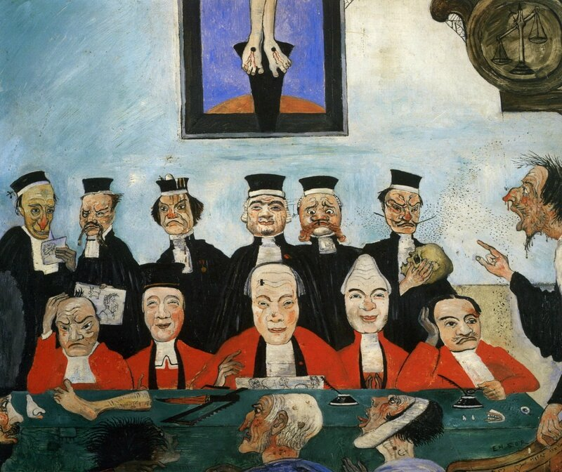 1891-James-Ensor-Good-Judges-