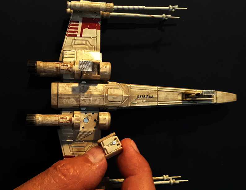 x-wing hotwheel elite pose