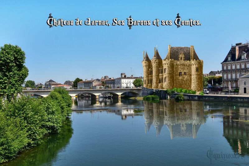 Château de Jarnac, Ses Barons et ses Comtes