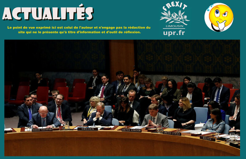 ACT CONSEIL SECURITE SYRIE