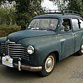 Renault colorale prairie 1950-1957