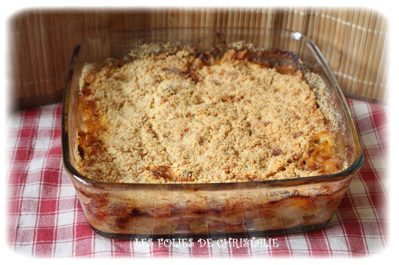 Crumble courgettes 7