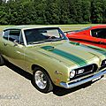 Plymouth barracuda 340 formula s fastback coupe - 1969