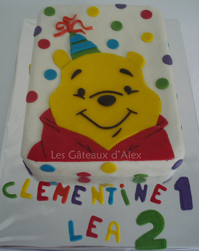 Gateau Winnie L Ourson Les Gateaux D Alex