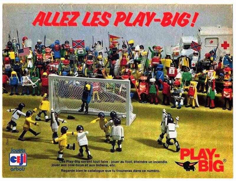 Publicité Footballeurs Play-big