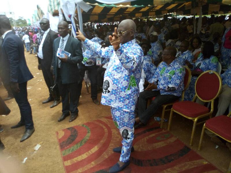 Fête de la Liberté du FPI à Gagnoa Ony Babré : Les remerciements de Sangaré Aboudramane pour l'exceptionnelle mobilisation