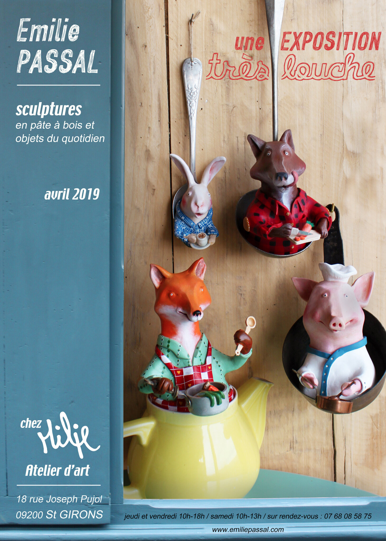 expo Milie avril 2019