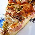 Clafoutis express à la rhubarbe