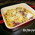 Pastaflette au bacon