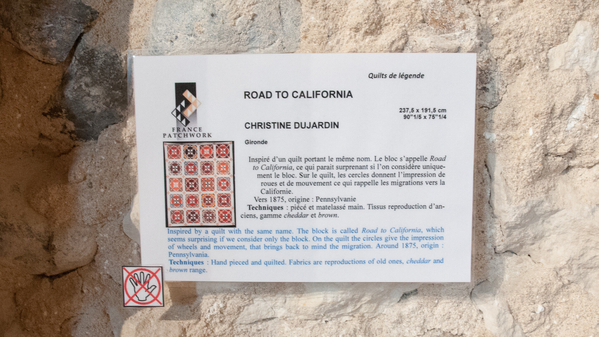 2019-04-22_14-00-17-Quilt de légende-Christine DUJARDIN-ROAD TO CALIFORNIA