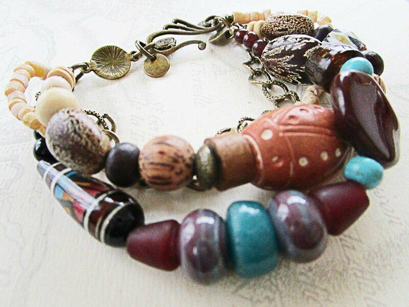 bracelet nature et graines 2