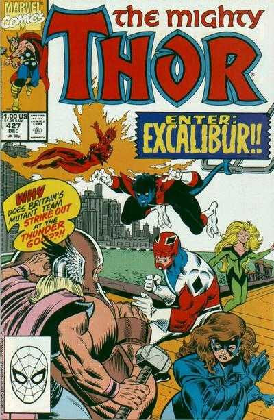 mighty thor 1966 427