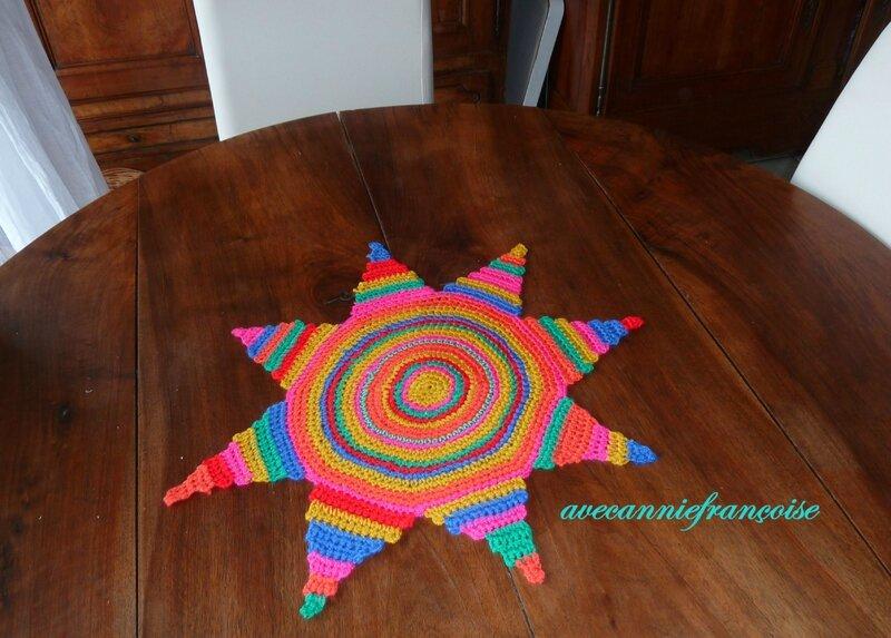 soleil mexicain sur table