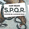 Spqr/ mary beard