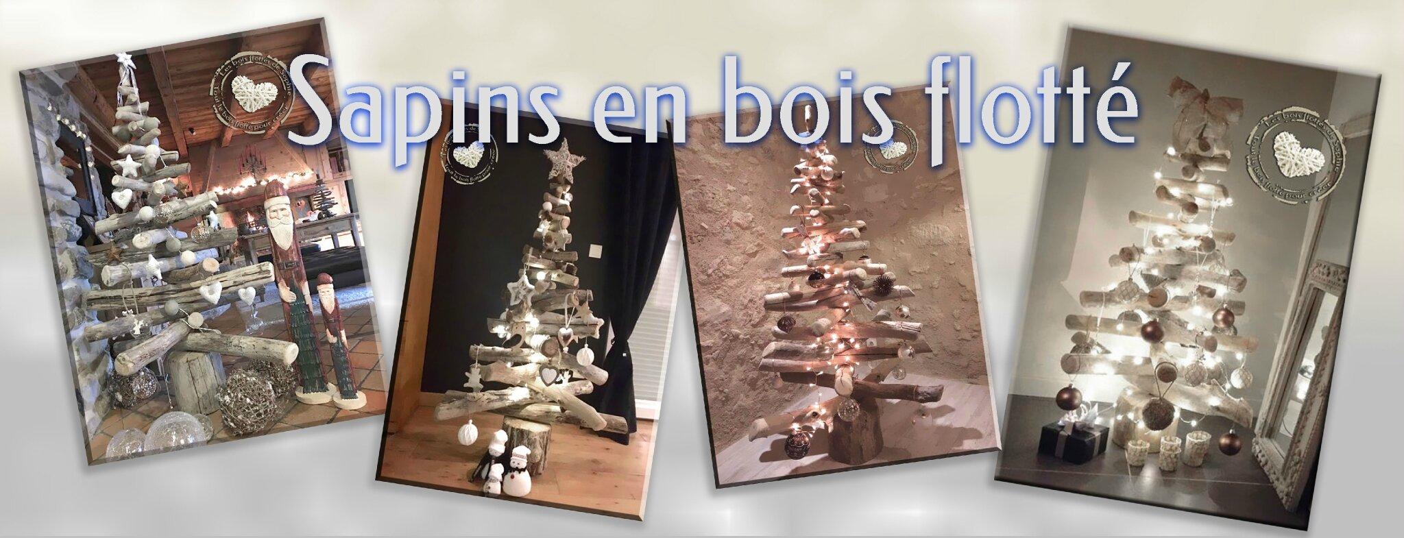 Sapins En Bois Flotte Bois Flotte Pour La Creation De Decoration D