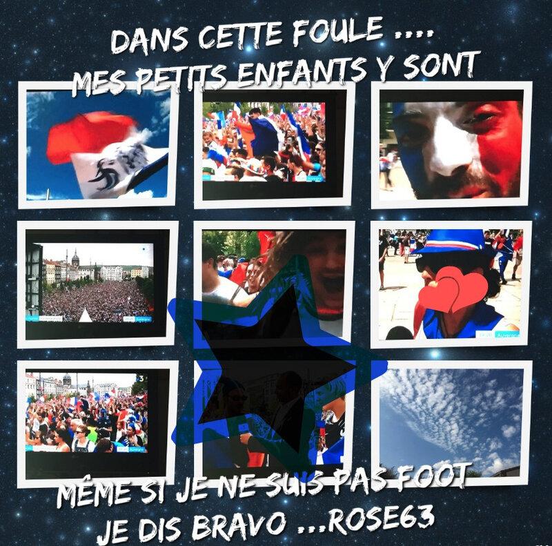 bravo aux champions Rose63