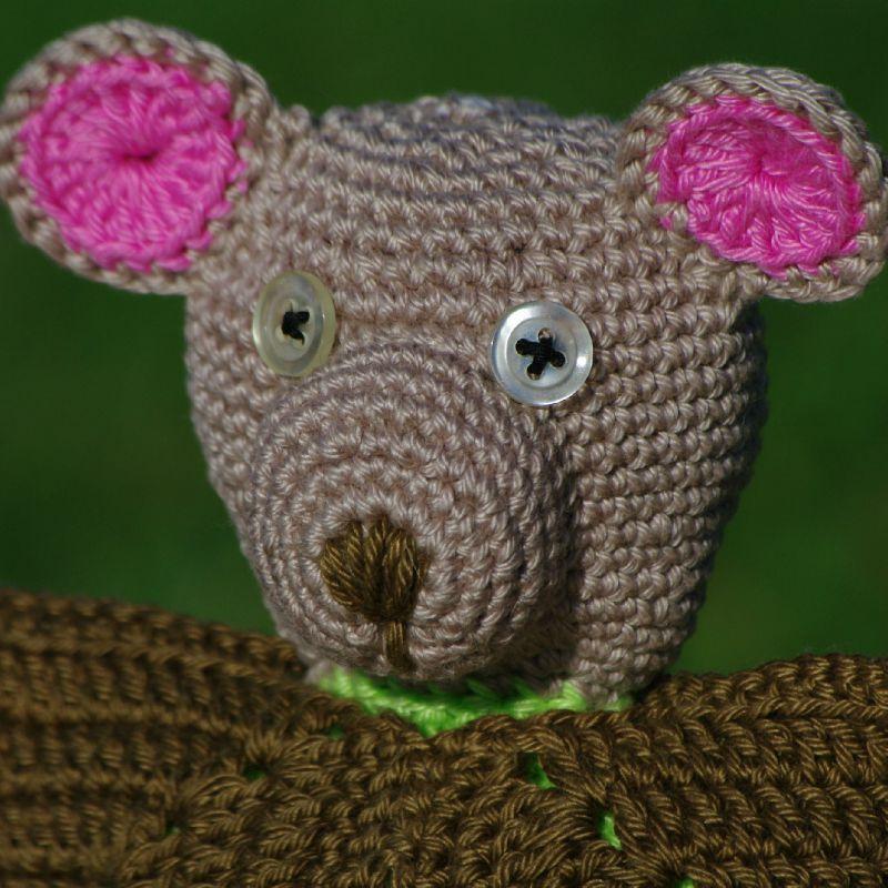 ours marionnette au crochet