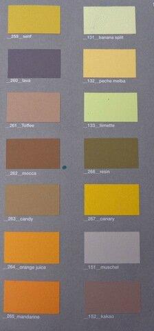 24 nouveaux coloris de peinture l 39 argile l 39 atelier des couleurs et ses secrets. Black Bedroom Furniture Sets. Home Design Ideas