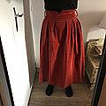 J'ai cousu la jupe l'elégante