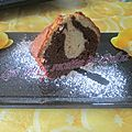 Gâteau chocolat et orange sanguine