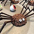 Les spider-muffins d'halloween