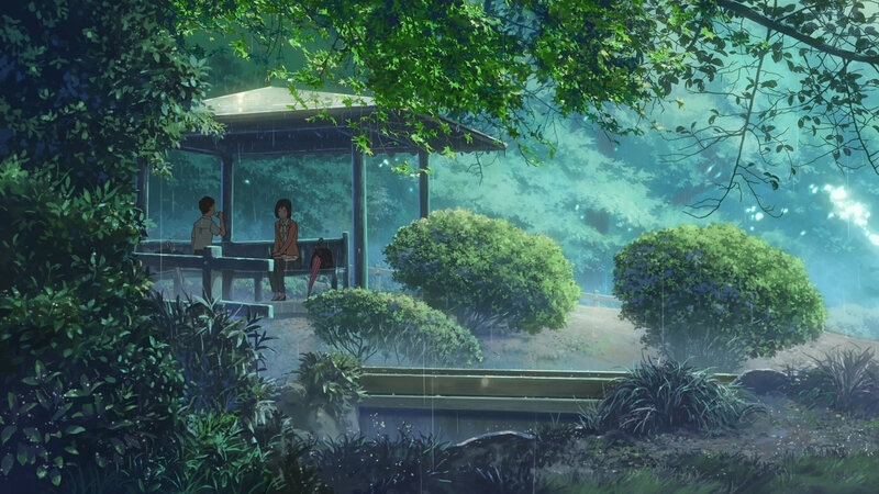 Canalblog Anime Makoto Shinkai The Garden Of World Nature04