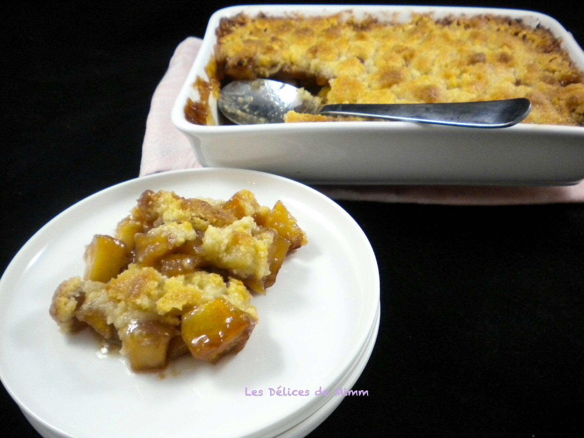 Incroyable Recette Caramel Beurre Salé Cyril Lignac crumble aux pommes et caramel au beurre salé de cyril lignac pour la