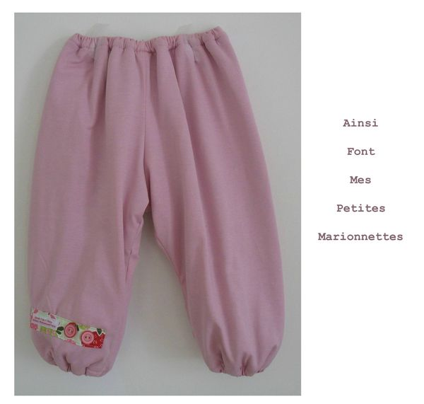 ensemble jersey rose pantalon 1